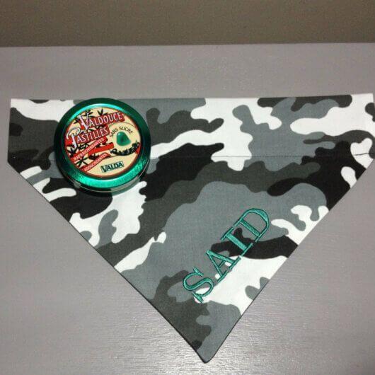 Hundehalstuch Camouflage – Tarnfarben