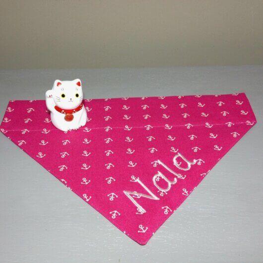 froehliches pink fuer hundemaedchen nur noch eins pink mit anker tuch mit tunnel 606a4ee0
