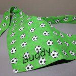 Hundehalstuch für Fußball-Hunde und andere Fans – Fußballbuch