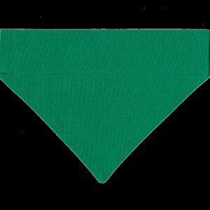 Hundehalstuch kräftiges Wiesengrün, einfarbig