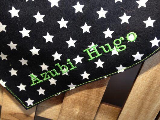 12 Bi Schwarz Sterne Azubi Hugo Detail