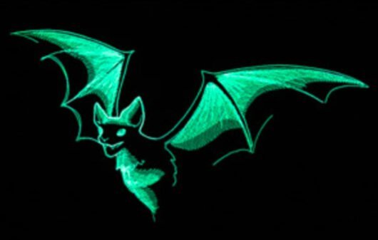 Bi + Tu Fledermaus Leuchtend